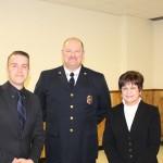 Tim LeBlanc, Chief Berry, Supervisor Mahan
