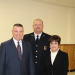 Robert Potter, Chief Berry, Supervisor Mahan