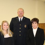 Hayley Smith, Chief Berry, Supervisor Mahan