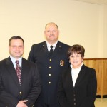 Andrew Cohen, Chief Berry, Supervisor Mahan