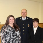 Samantha Sullivan, Chief Berry, Supervisor Mahan
